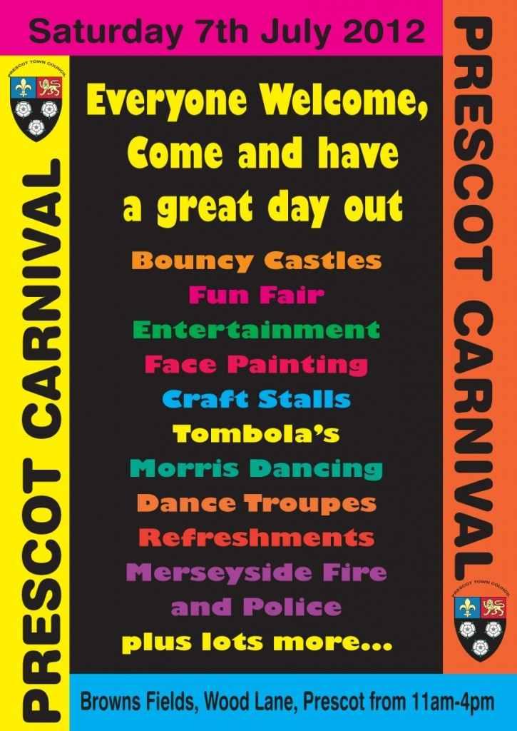 Prescot Carnival 2012