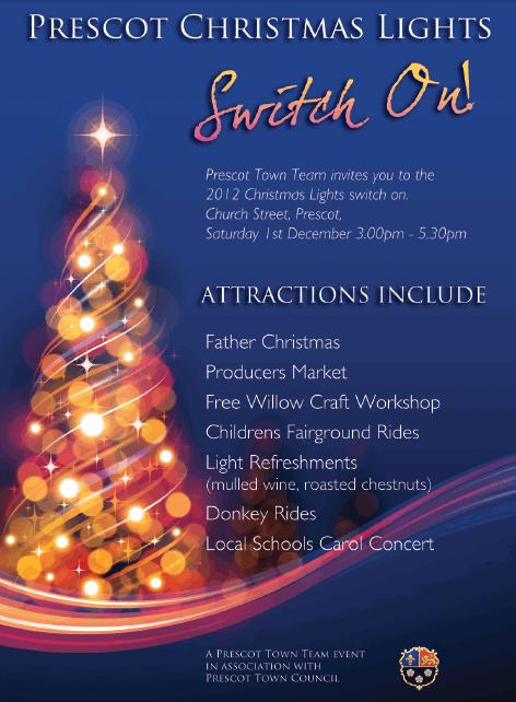 Christmas in Prescot 2012