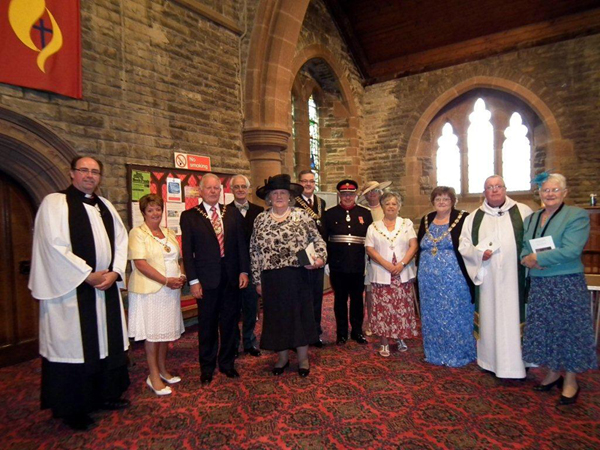 Mayors Civic Service Sunday 14th July 2013