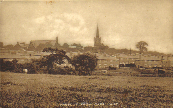 Prescot_Parish_Church_spire_from_Carr_Lane
