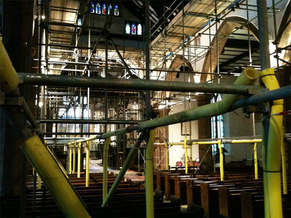 prescot_parish_church_roof_scaffolding