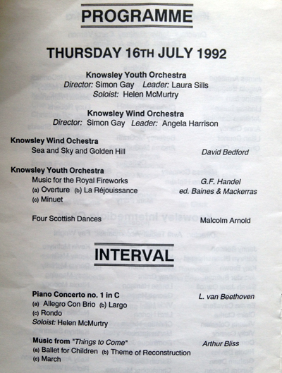 KYO_Knowsley_Youth_Orchestra_programme_summer_1993