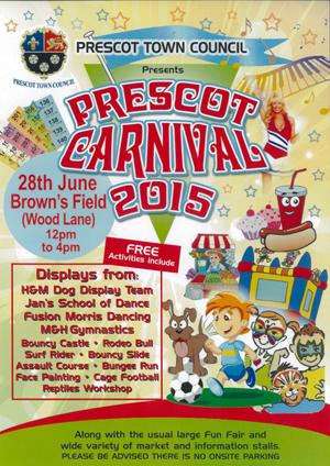 Prescot Carnival 2015
