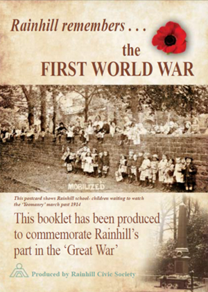 Rainhill_Remembers_WWI_booklet