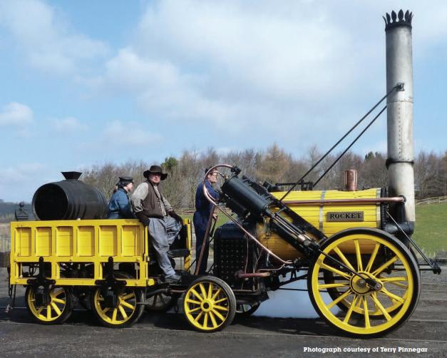 Stephenson's Rocket Coming back to Rainhill – Prescot Online